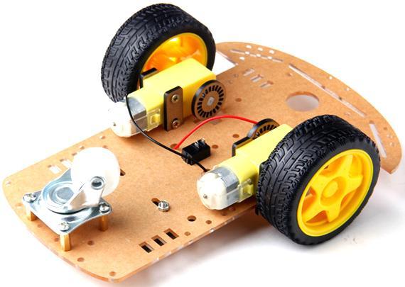châssis du car robot