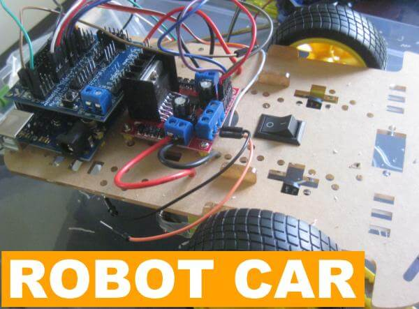 robot car arduino
