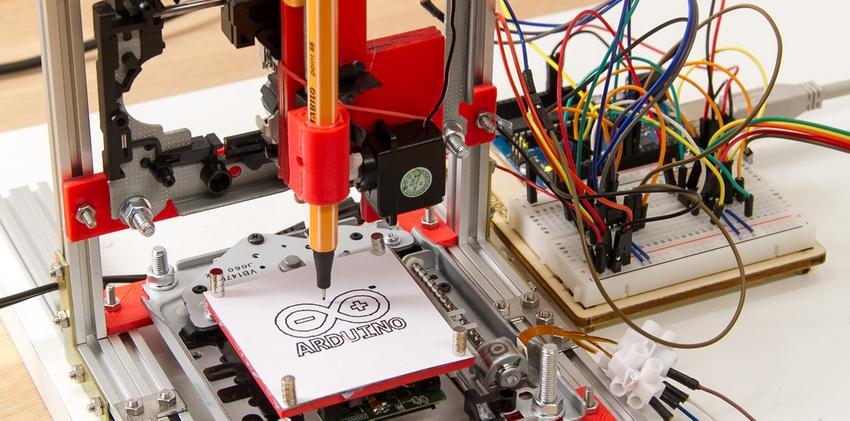 arduino plotter traceur cnc