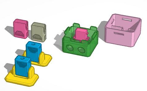 châssis de robot otto