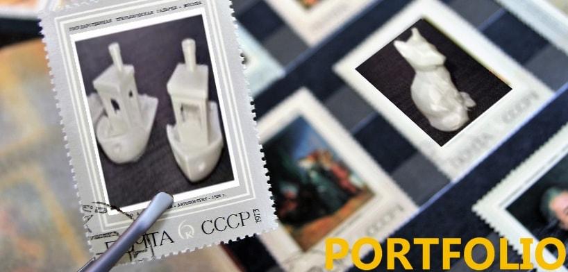 portfolio impression 3d