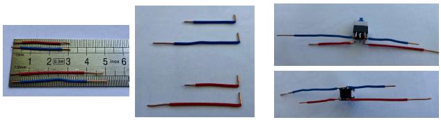 assemblage des fils électriques