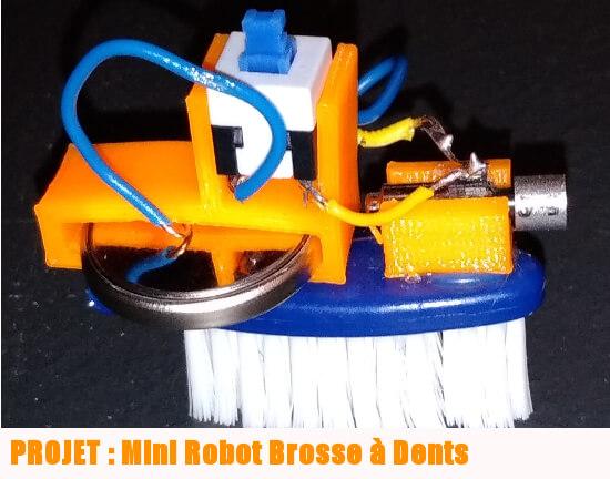 projet robot brosse à dents