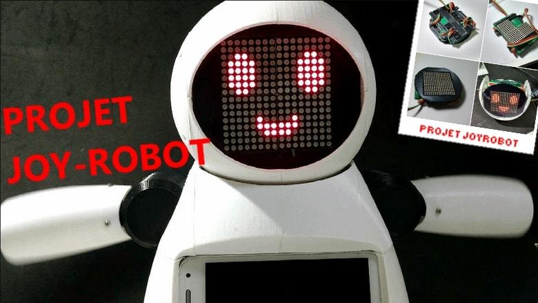 projet arduino de joy Robot