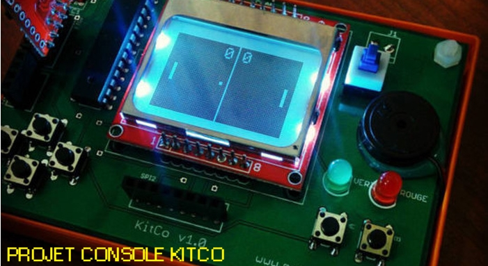 projet console de jeux KitCo