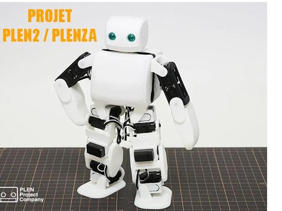 projet plen2 , plenza robot